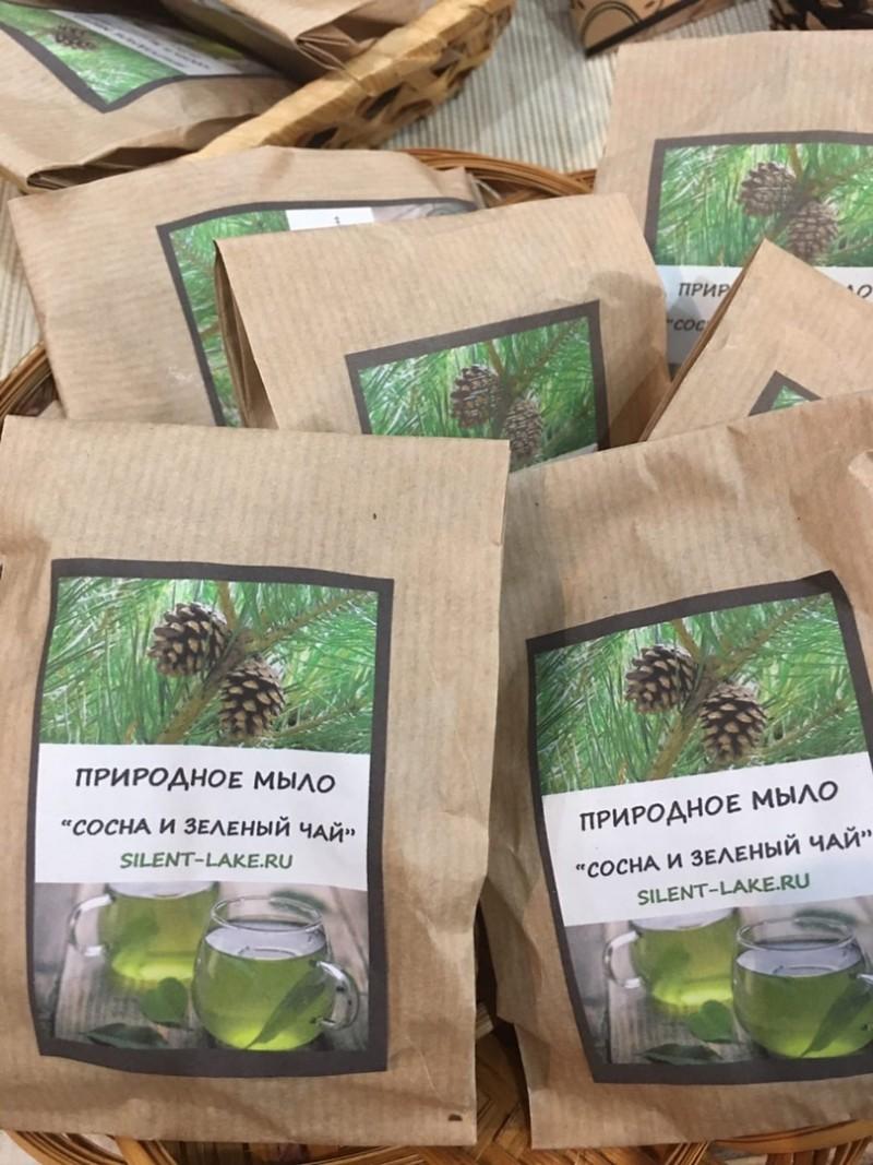Мыло «Сосна и зеленый чай»